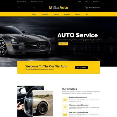 auto car tool prestashop theme