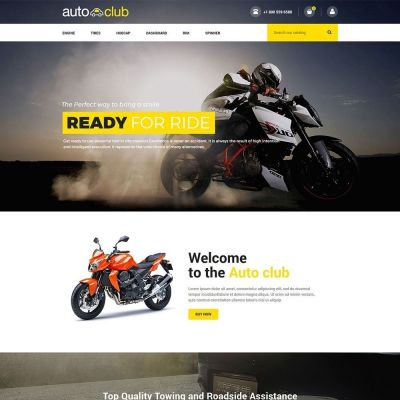 Auto part car prestashop theme