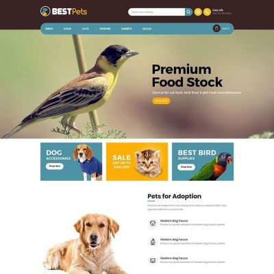 Bestpet pet prestashop theme