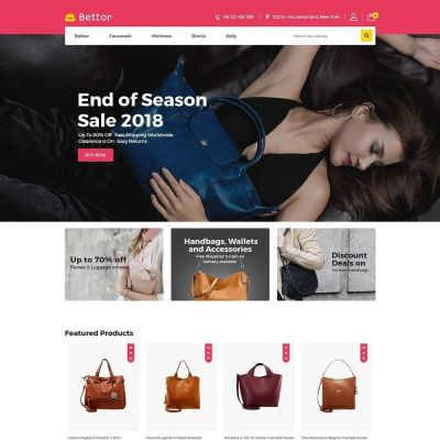Bettor Bag - Fashion Store Template