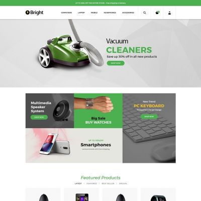 Bright Electronics Prestashop Theme