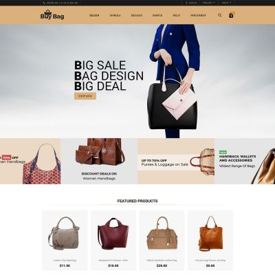 Buybag Fashion psd