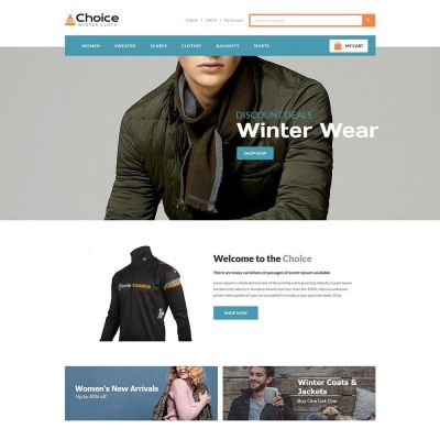 choice fashion prestashop theme