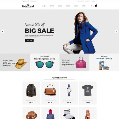 codetrend fashion accessories prestashop theme