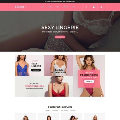 Cool Fashion - Lingerie Adult StoreTemplate