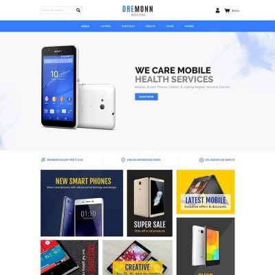 Mobile electronics digital prestashop theme