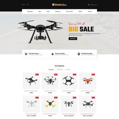drone camera prestashop theme