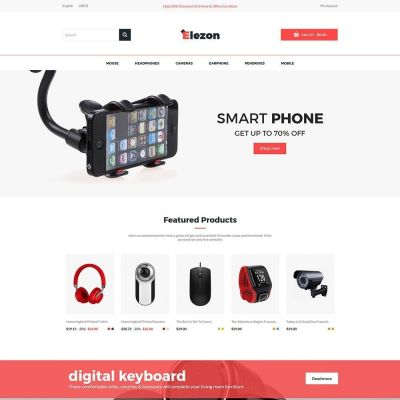 Elezon Computer - Electronics Store Template