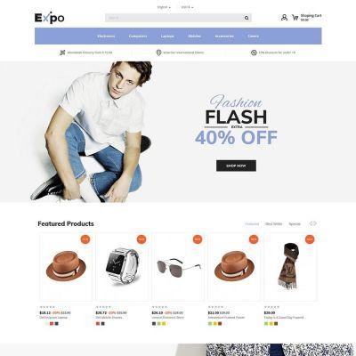 expo fashion cap store  prestashop theme