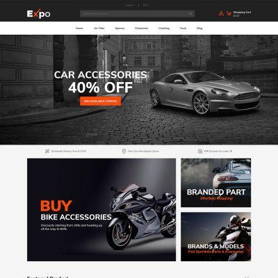 Expo - Multipurpose Responsive Magento2 Theme | Auto Store
