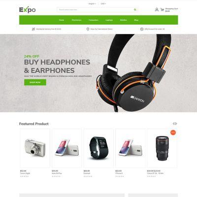 Expo - Multipurpose Responsive Magento2 Theme | Electronics Store