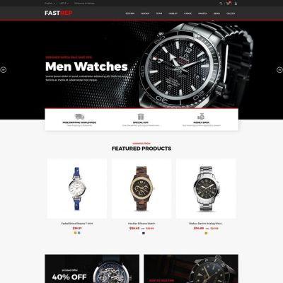 Fasttrep Watch - Luxury Store Template