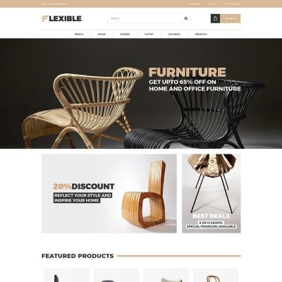 Flexible Furniture Prestashop Theme
