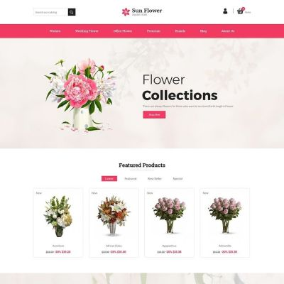Flower Prestashop Theme
