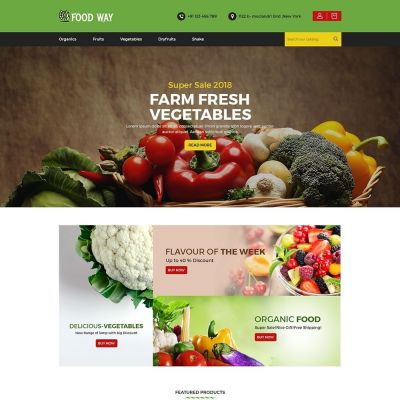 Foodway Food psd