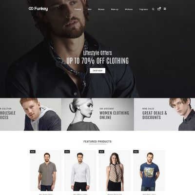 funkey fashion prestashop theme