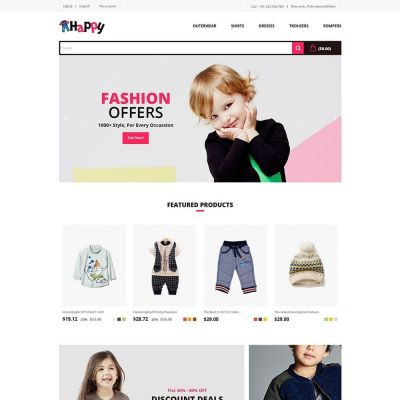 Happy Toy Kids Prestashop Theme
