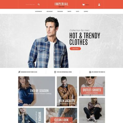 Imperial fashion store prestashop theme