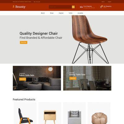 Interior Furniture - Decor Wood Garden Store Template