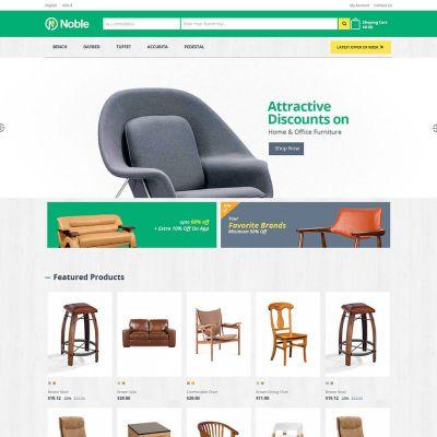 Interior Furniture - Home Garden Megamart Store Template