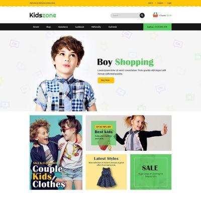 Kidszone Kids Prestashop Theme