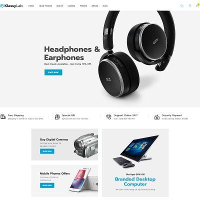 KlassyLab Store - Electronics Magento 2.3 Theme