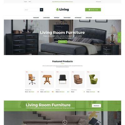 Living Furniture Chair Prestashop Theme