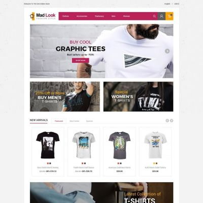 Madlook Fashion Prestashop Theme