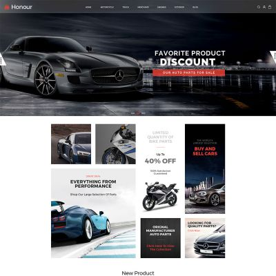 Honour - Multipurpose Responsive Magento2 Theme | Auto Store