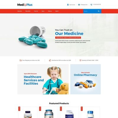 Medical Drug Prestashop Theme