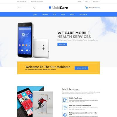 mobicare electronics mobile prestashop theme