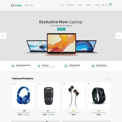 Mobile Electronics - Digital Store Template