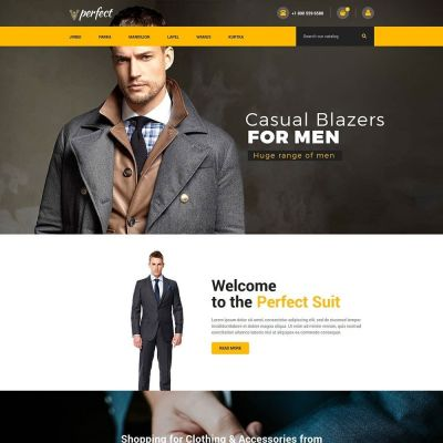 perfect fashion blazzer prestashop theme