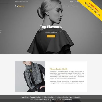 pretty fashion prestashop theme