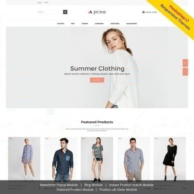 Prime Fashion Prestashop Theme