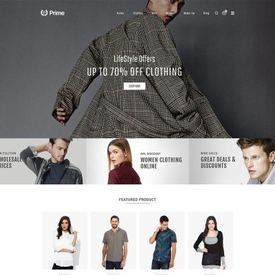 Prime Fashion Multipurpose Magento2 Theme Fashion Store