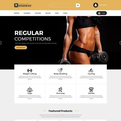 Renower multipupose prestashop theme
