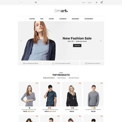 Smart Fashion Store Prestashop Theme