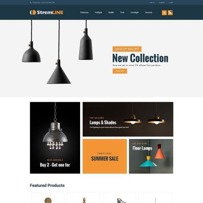 Strem Line Light Prestashop Theme