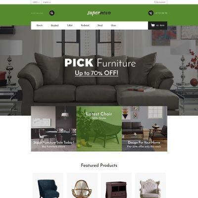 Super Nova - Furniture Store Template