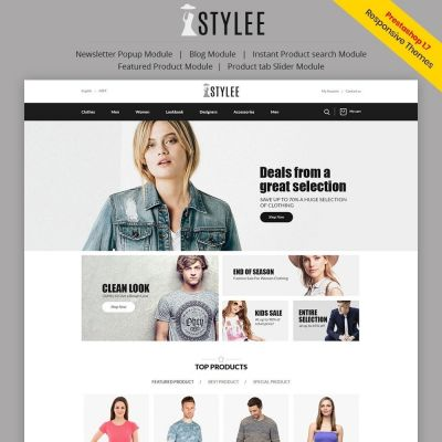 the stylee fashion prestashop theme