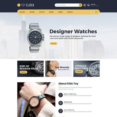 Top Clock Watch psd