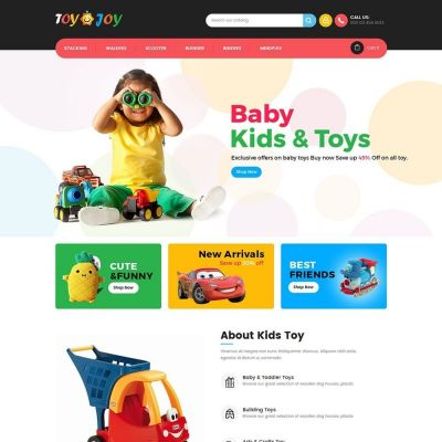 Toy Joy Kids Prestashop Theme