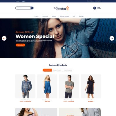 fashion cloth prestashop